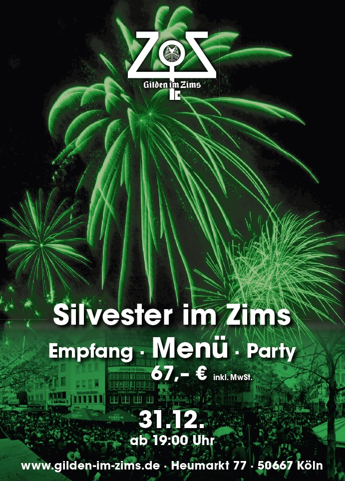 Silvester im Zims